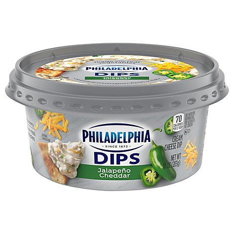 Kraft Philly Jalapeno And Cheddar Dip - 10 Oz