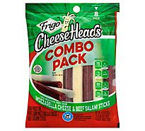 Frigo Variety Pack String Cheese Salami - 6.33 Oz