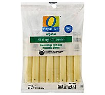 O Organics Organic Cheese Mozzarella String - 16 Oz