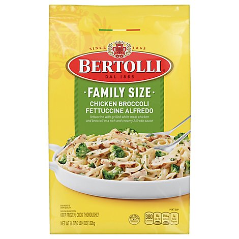 Bertolli Chicken Broccoli Alfredo Family Size Skillet - 36 Oz