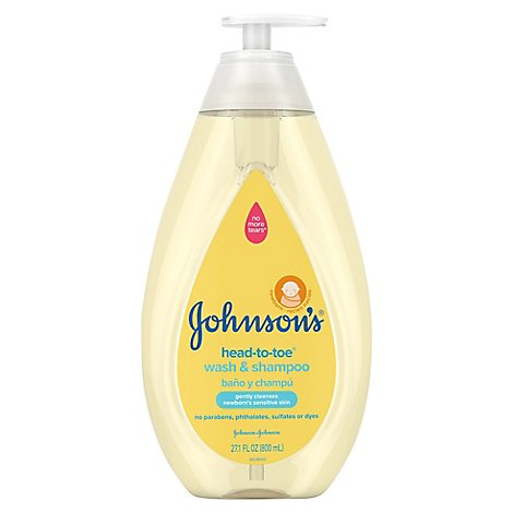 Johnsons Htt Wash&Shampoo - 27.1 Fl. Oz.