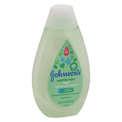 Johnsons Soothng Vpr Bath - 13.6 Fl. Oz.