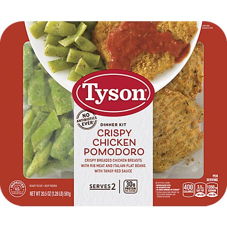 Tyson Ready To Eat Crispy Chicken Pomodoro Dinner Kit - 20.5 Oz