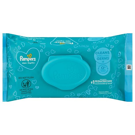 Pampers Complete Clean Baby Wipes Baby Fresh Scent - 72 Count