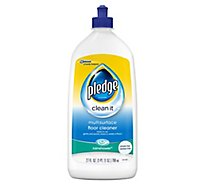 Pledge Multisurface Floor Cleaner Rainshower 27 fl oz