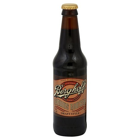 Berghoff Rootbeer Old Fashioned Draft Style Bottle - 12 Fl. Oz.