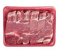 Meat Counter Pork Loin Country Style Ribs Bone In Value Pack - 3 LB