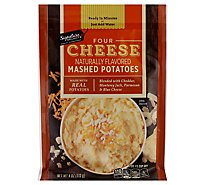 Signature SELECT Potatoes Mashed Four Cheese - 4 Oz