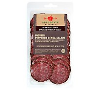 Applegate Natural Uncured Peppered Genoa Salami - 4 Oz