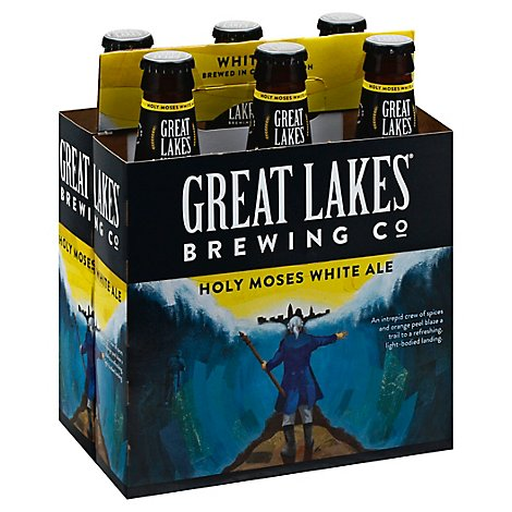Great Lakes Brewing Co. Beer White Ale Holy Moses Bottles - 6-12 Fl. Oz.