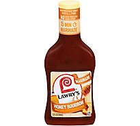 Lawrys Marinade Honey Bourbon With Clove Chipotle Pepper & Garlic Bottle - 12 Fl. Oz.