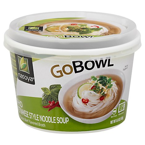 Nasoya Gobowl Noodle Soup Vietnamese Style Pho Cup - 5.6 Oz