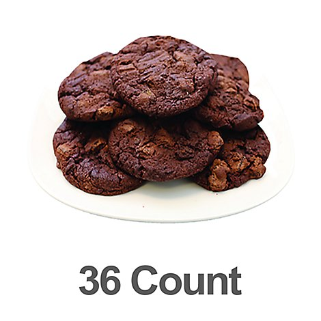 Bakery Cookies Double Chocolate 36 Count