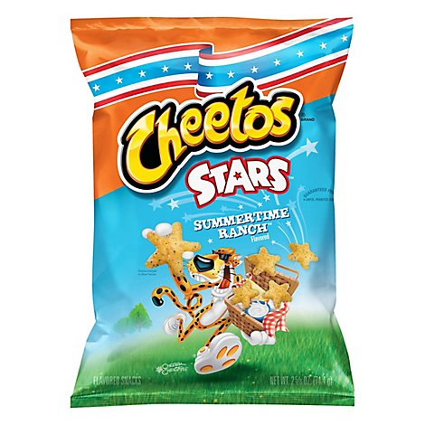 Cheetos Summertime Ranch Stars Cheese Snack - 2.625 Oz