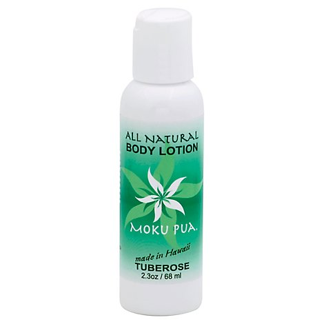 Moku Pua Body Lotion All Natural Tuberose Bottle - 2.3 Oz
