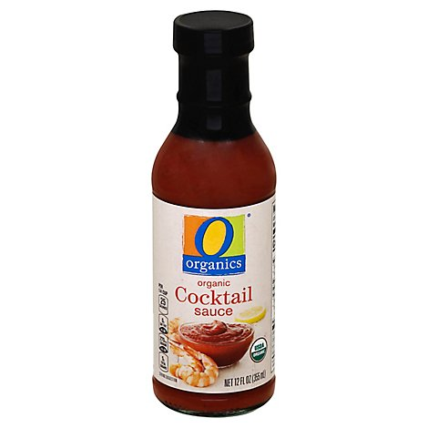 O Organics Organic Sauce Cocktail Bottle - 12 Fl. Oz.