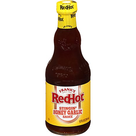 Franks RedHot Sauce Stingin Honey Garlic - 12 Oz