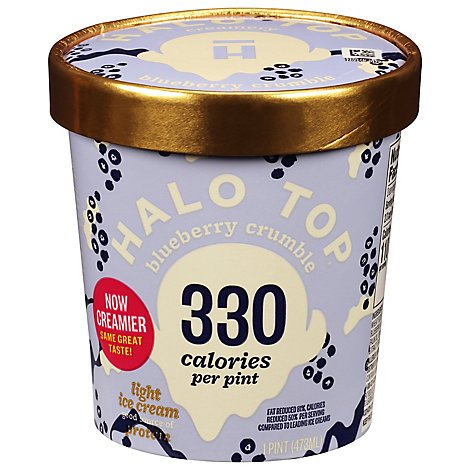 Halo Top Blueberry Crumble - 1 Pint