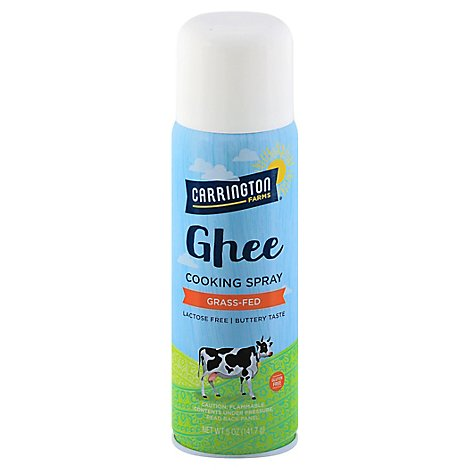 Carrington Farms Cooking Spray Ghee - 5 Oz