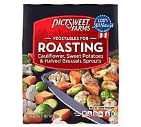Pictsweet Farms Vegetables For Roasting Cauliflower Sweet Potatoes & Brussels Sprouts - 18 Oz
