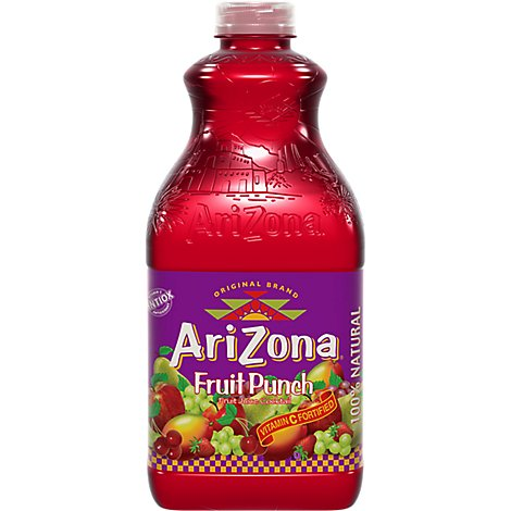 AriZona Fruit Juice Cocktail Fruit Punch - 59 Fl. Oz.