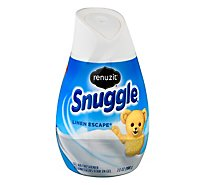 Renuzit Snuggle Air Freshener Gel Linen Escape - 7 Oz
