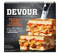 DEVOUR Buffalo Chicken Grilled Cheese - 7.41 Oz
