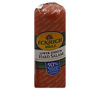 Eckrich Low Sodium Salami - 1.00 LB