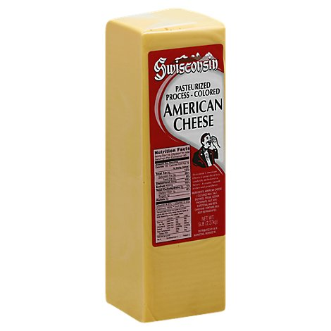 Wisconsin American Cheese - 0.50 Lb