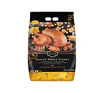 Jennie-O Turkey Store Whole Turkey Broth Basted Frozen - Weight Between 10-16 Lb