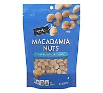 Signature SELECT Macadamia Nuts Dry Roasted And Salted - 6 Oz
