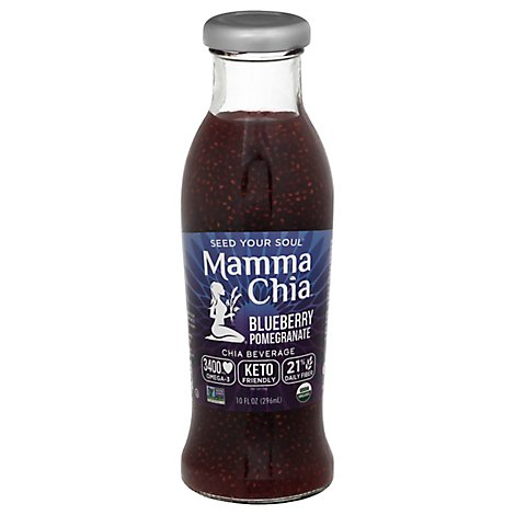 Mamma Chia Blueberry Pomegranate - 10 Oz