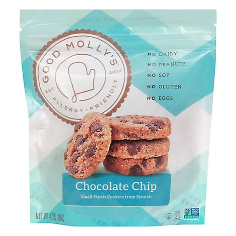 Mollys Bakeovers Old School Choc Chip - 4.5Oz