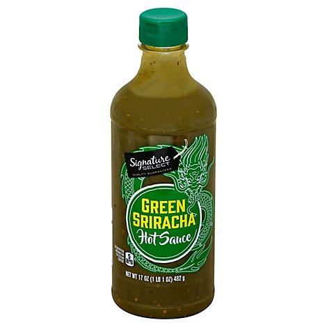 Signature SELECT Sriracha Sauce Green - 17 Fl. Oz.