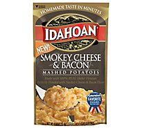 Idahoan Potatoes Mashed Smoky Cheese & Bacon Pouch - 4 Oz