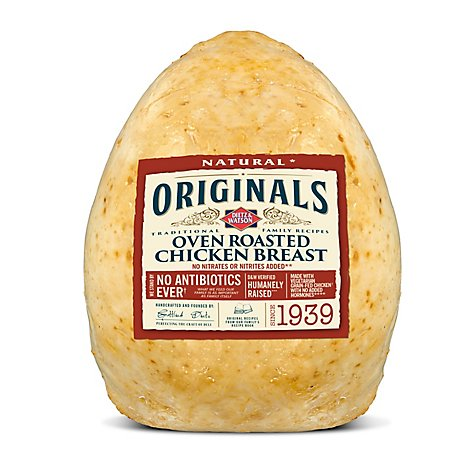 Dietz & Watson Originals Chicken Breast Oven Roasted Pre Sliced - 0.50 LB