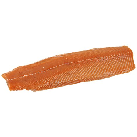 Seafood Counter Fish Salmon Coho Fillet Previously Frozen - 0 LB