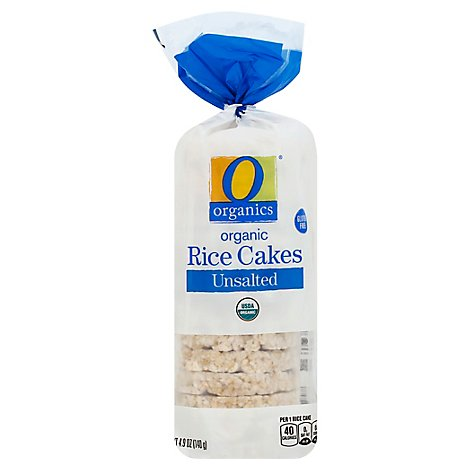 O Organics Organic Rice Cake Unsalted Bag - 4.9 Oz