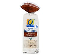 O Organics Rice Cake Multigrain Unsalted - 4.9 Oz