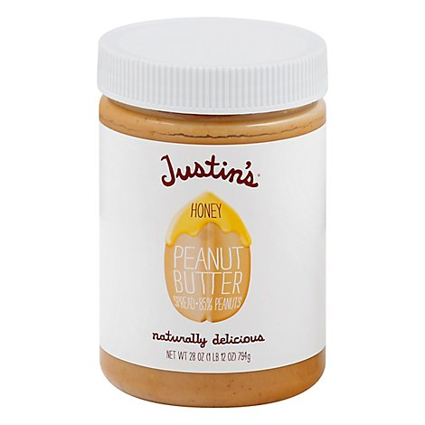 Justins Honey Pnt Bt - 28 Oz