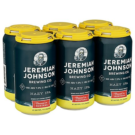 Jeremiah Johson India Pale Ale In Cans - 6-12 Fl. Oz.