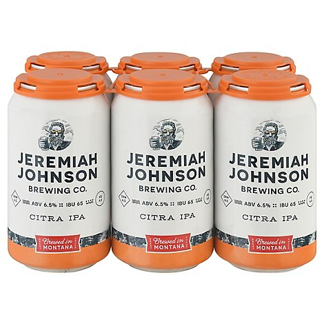 Jeremiah Johnson Citra Pale Ale In Cans - 6-12 Fl. Oz.