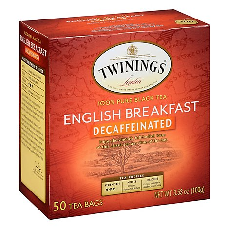 Twining Tea Tea Englsh Brkfst Decaf - 50 Bag