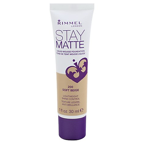Rimmel Stay Matte Fndt Ft Beige - 1 Fl. Oz.