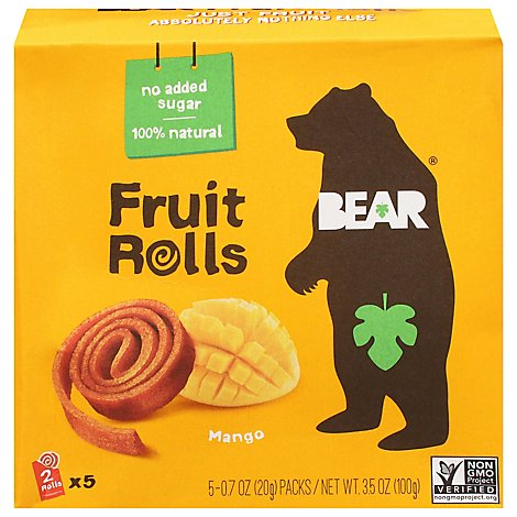 Bear Yo You Fruit Roll Mango Multi - 3.5 Oz