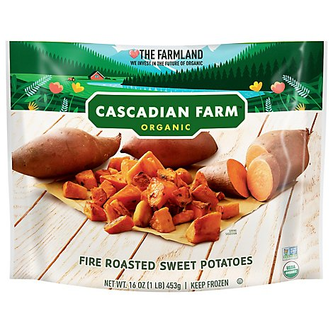 Cascadian Farm Organic Potatoes Sweet Fire Roasted - 16 Oz