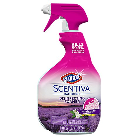 Clorox Scentiva Disinfecting Foamer Spray Bottle Multi Surface Cleaner - 30 Fl. Oz.