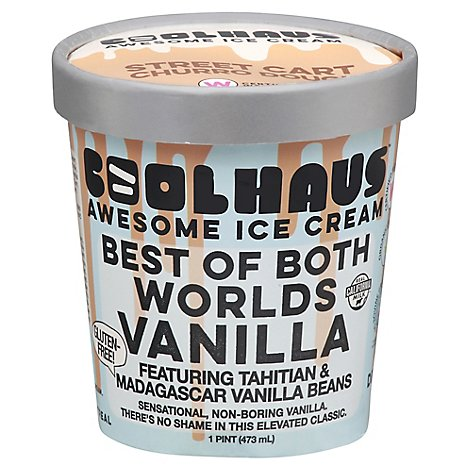 Coolhaus Ice Crm Bst Bth Wrlds Van - 16 Oz