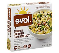 Evol Bowl Ham Benedict Smoked Uncured - 7.5 Oz