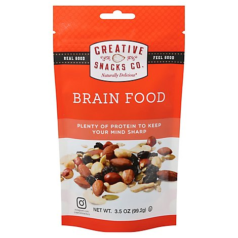 Creative Snack Brain Food Snack Bag - 3.5 Oz